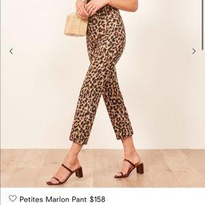 Petites Marlon Leopard Pants 0P